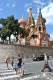 Catedral de la albahaca del santo Fotografía de archivo libre de regalías