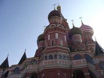 Catedral de la albahaca del santo Foto de archivo