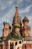 Catedral de la albahaca del santo en Moscú Imagen de archivo libre de regalías