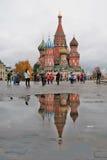 Catedral de la albahaca del santo en Moscú, Rusia Foto de archivo libre de regalías