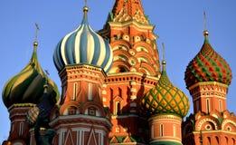 Catedral de la albahaca del santo, Moscú, Rusia Foto de archivo libre de regalías