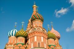 Catedral de la albahaca del St, Moscú Foto de archivo libre de regalías
