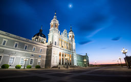 Catedral de la Almudena -马德里 免版税图库摄影