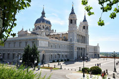 Catedral de la Almudena Royalty Free Stock Photos