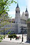 catedral de la Almudena 免版税库存图片