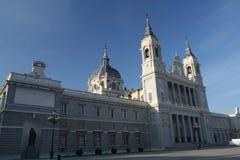 Catedral DE La Almudena Stock Afbeelding