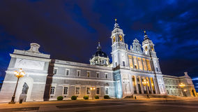 Catedral de la Almudena Image stock