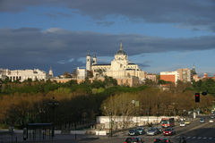 Catedral de la Almudena Royalty Free Stock Photo