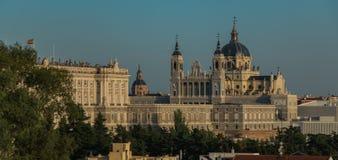 Catedral de la Almudena Jag Royaltyfri Bild