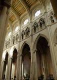 Catedral de la Almudena, Madrid. Centrale di Galeria - cattedrale di Fotografia Stock Libera da Diritti