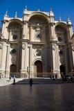 catedral de la Anunciacionn de格拉纳达 图库摄影
