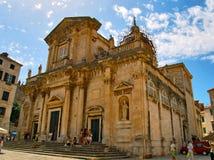 Catedral de la asunción de la Virgen Maria Fotografía de archivo libre de regalías