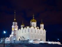 Catedral de la asunción en noche Imagen de archivo
