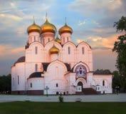 Catedral de la asunción en Yaroslavl Rusia Fotos de archivo