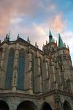 Catedral de la bóveda en Erfurt, Alemania. Fotografía de archivo libre de regalías