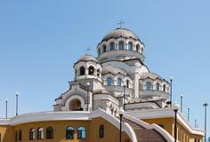 Catedral de la cara santa de Cristo el salvador Fotos de archivo