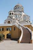 Catedral de la cara santa de Cristo el salvador Imagen de archivo libre de regalías