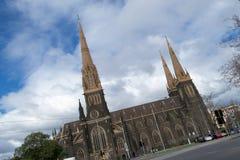 Catedral de la catedral del St Patricks en Melbourne Imagen de archivo libre de regalías