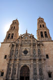Catedral de la ciudad de la chihuahua Imágenes de archivo libres de regalías