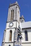 Catedral de la ciudad de Noumea Fotos de archivo libres de regalías