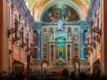 Catedral de la iglesia Fotografía de archivo