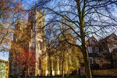 Catedral de la iglesia de monasterio de York Imagen de archivo libre de regalías