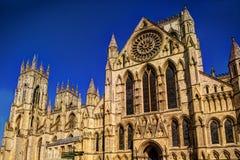 Catedral de la iglesia de monasterio de York Fotografía de archivo libre de regalías