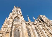 Catedral de la iglesia de monasterio de York de York Inglaterra Foto de archivo