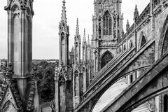 Catedral de la iglesia de monasterio de York en York Yorkshire, Inglaterra Imagenes de archivo