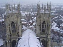 Catedral de la iglesia de monasterio, York, Reino Unido Imagen de archivo libre de regalías