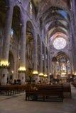 Catedral de la luz Imagen de archivo libre de regalías