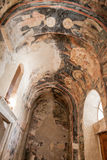 Catedral de la metrópoli de Mystras Imagenes de archivo