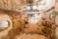 Catedral de la metrópoli de Mystras Imagen de archivo libre de regalías