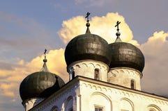 Catedral de la natividad de nuestra señora, Veliky Novgorod Imagen de archivo