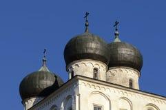 Catedral de la natividad de nuestra señora, Veliky Novgorod Imágenes de archivo libres de regalías