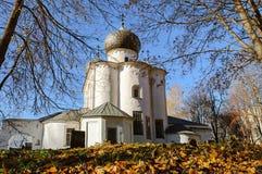 Catedral de la natividad de nuestra señora, Veliky Novgorod Foto de archivo