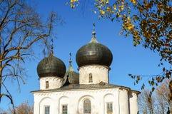 Catedral de la natividad de nuestra señora, Veliky Novgorod Fotos de archivo libres de regalías