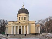 Catedral de la natividad en Kishinev (Chișinău) el Moldavia Imagenes de archivo