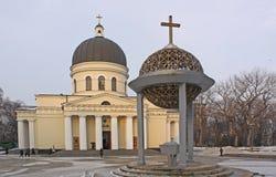 Catedral de la natividad en Kishinev (Chișinău) el Moldavia Imagen de archivo
