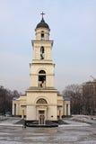 Catedral de la natividad en Kishinev (ChiÈ™inău) el Moldavia Imagen de archivo libre de regalías
