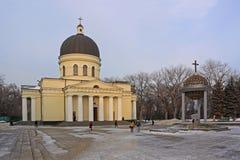 Catedral de la natividad en Kishinev (ChiÈ™inău) el Moldavia Fotografía de archivo