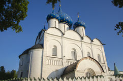 Catedral de la natividad en Suzdal el Kremlin Imagenes de archivo