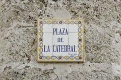 catedral de la plaza Arkivfoto