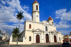 Catedral de la Purisima,西恩富戈斯,古巴 免版税库存照片
