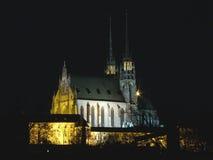 Catedral de la República Checa de San Pedro y de Paul Imágenes de archivo libres de regalías