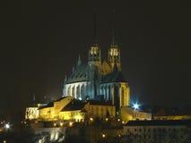 Catedral de la República Checa de San Pedro y de Paul Imagenes de archivo
