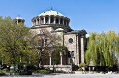 Catedral de la semana santa, Sofía, Bulgaria Imagen de archivo
