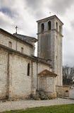 Catedral de la suposición de la Virgen María bendecida en pulas Croacia Foto de archivo libre de regalías