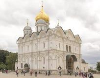 Catedral de la suposición del Kremlin Imagen de archivo libre de regalías