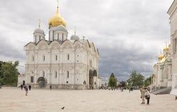 Catedral de la suposición del Kremlin Imágenes de archivo libres de regalías